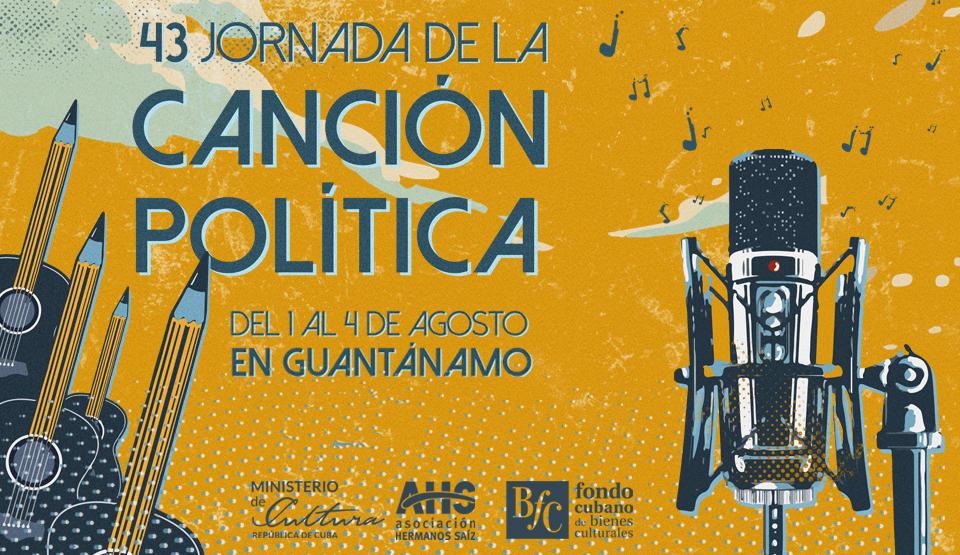 A partir del jueves en Cuba, 43 Jornada de la Canción Política