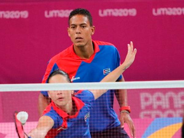 Fuera de semifinales dupla mixta cubana de Bádminton