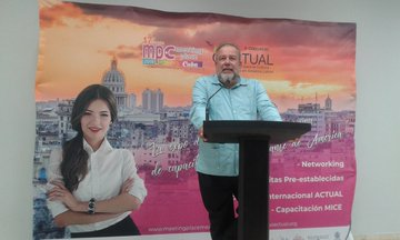 Meeting Place CEO expresses support for the development of event tourism in Cuba