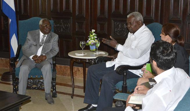 Recibió Estaban Lazo al segundo Vicepresidente de Zanzíbar