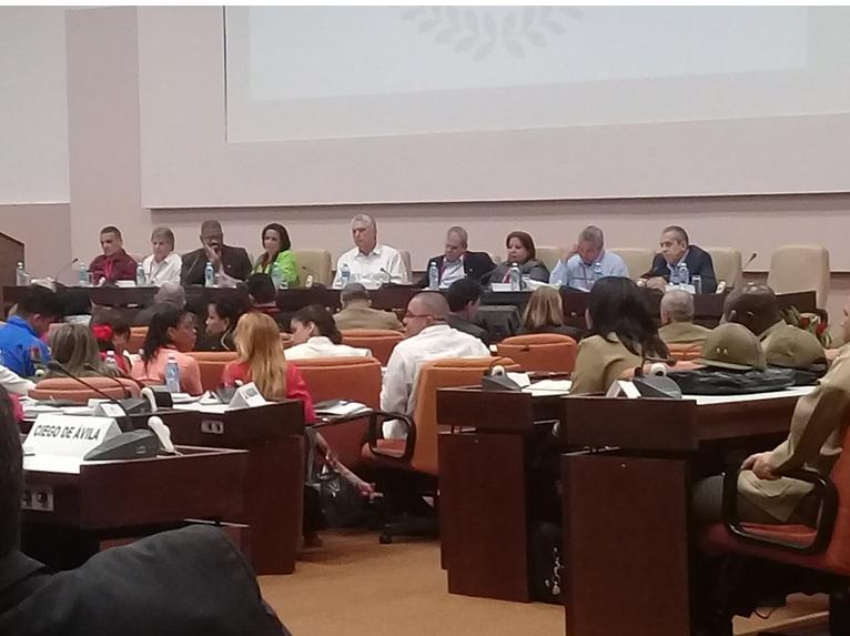 Destaca Díaz-Canel papel de la Fiscalía en defensa del Estado socialista de derecho