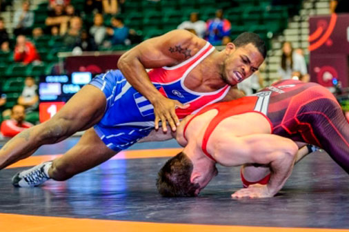 Cuban Salas for gold in Russian wrestling tournament
