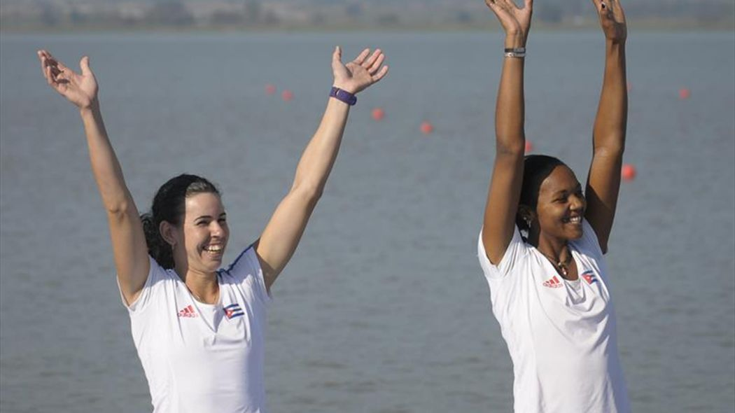 Cubans win bronze in World Rowing Cup