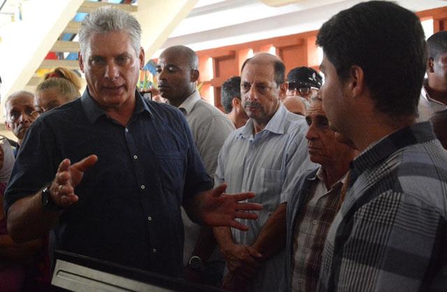 Díaz Canel continue sa visite à Villa Clara