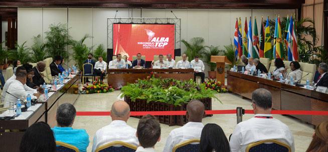 Aprueban Declaración Final representantes de Estados integrantes del ALBA-TCP