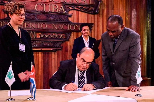 Firmó Cuba acta constitutiva de la Organización de Aduanas del Caribe