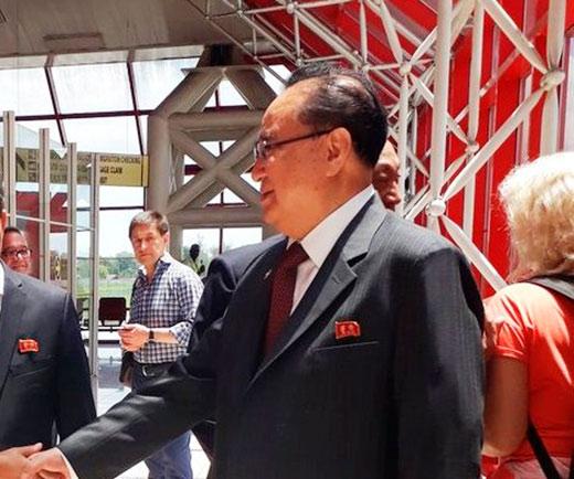 Roberto Morales a reçu une délégation de la République populaire démocratique de Corée