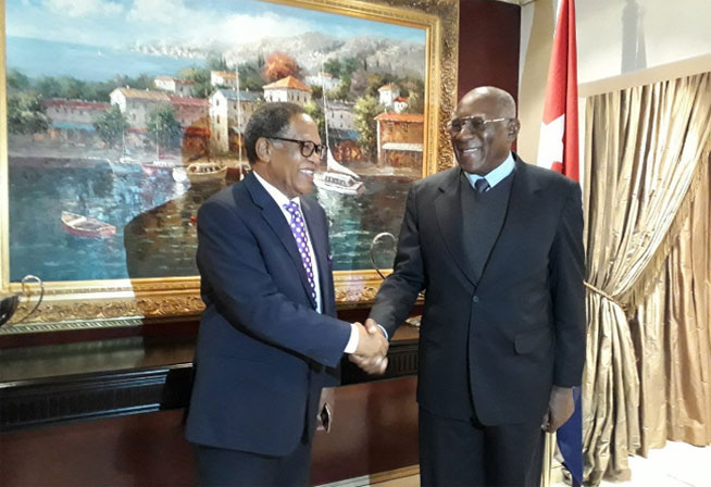 Cuban First Vice President travels to Eswatini, former Swaziland