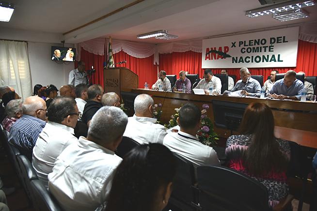 Sesionó X Pleno de la Asociación Nacional de Agricultores Pequeños