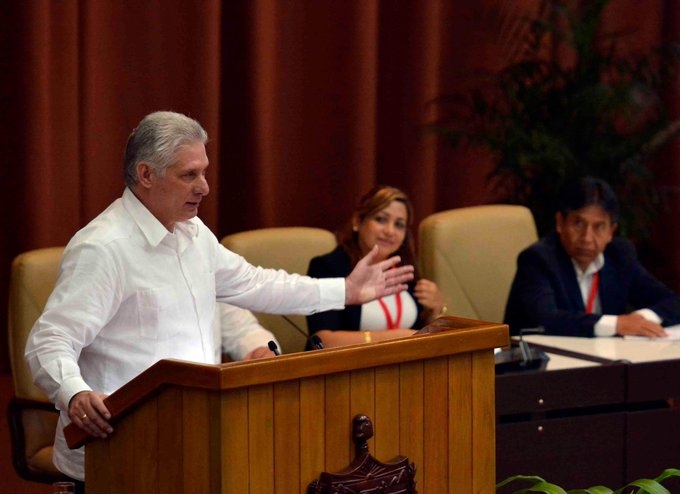 Díaz-Canel in Anti-Imperialist Encounter: No just cause is foreign to us