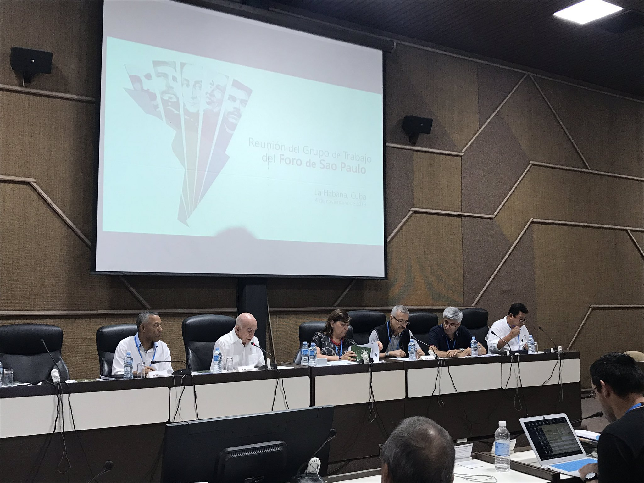 Second Secretary of the Cuban Communist Party chairs the Sao Paulo Forum working group meeting