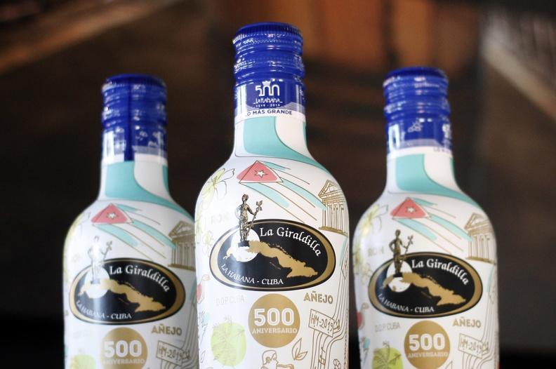 La Giraldilla, Cuban rum to celebrate Havana's 500th anniversary