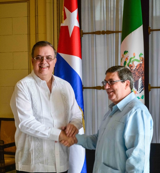 Foreign Ministers of Cuba and Mexico hold official talks in Havana
