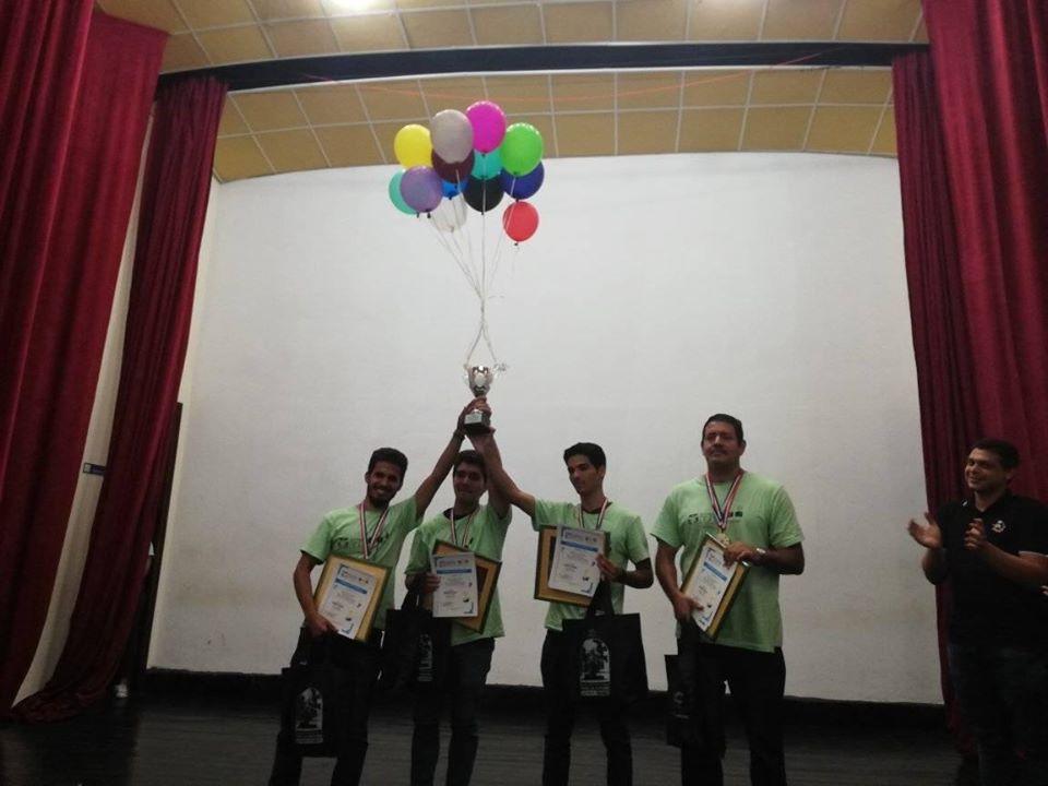 Équipe UH ++, championne de la finale du Concours universitaire international des Caraïbes