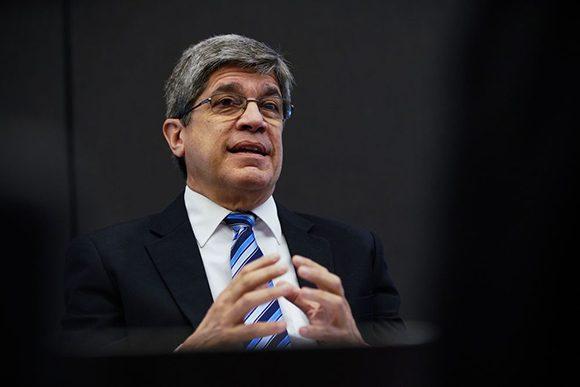 Fernández de Cossío responde a preguntas sobre estado actual de las relaciones Cuba-EE.UU.