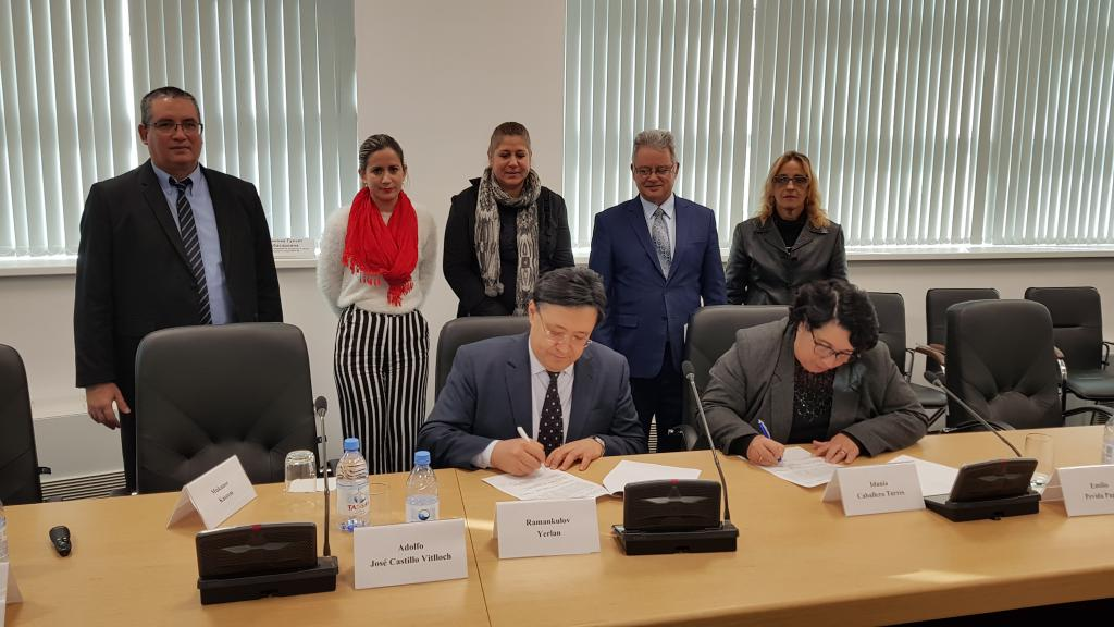 Scientific institutions from Cuba and Kazakhstan sign MOU and cooperation