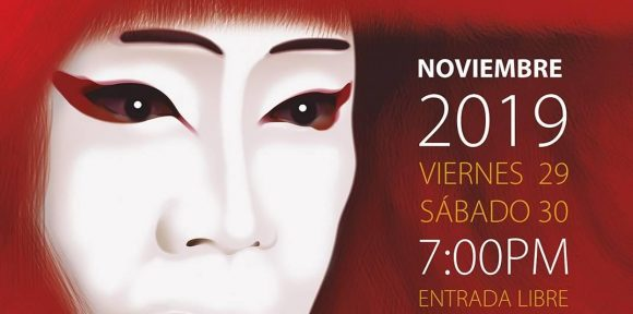 Traditional Japanese theater for the first time in Havana