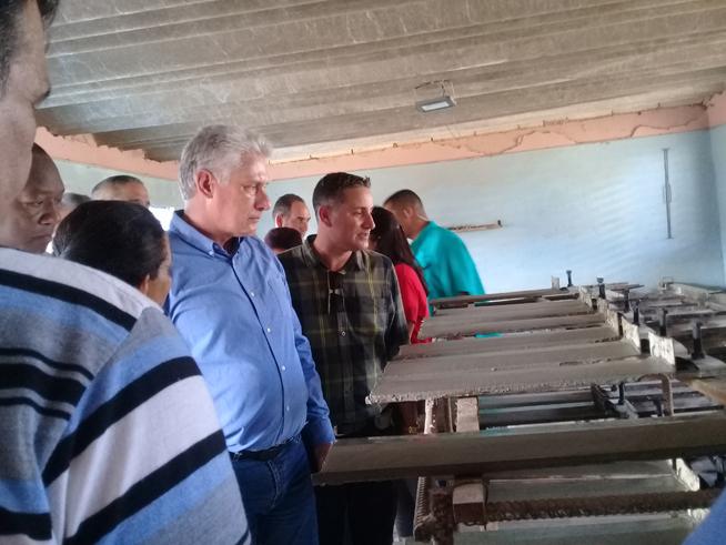 Visita gubernamental chequea en Ciego de Ávila programa de construcción de viviendas (+Fotos)