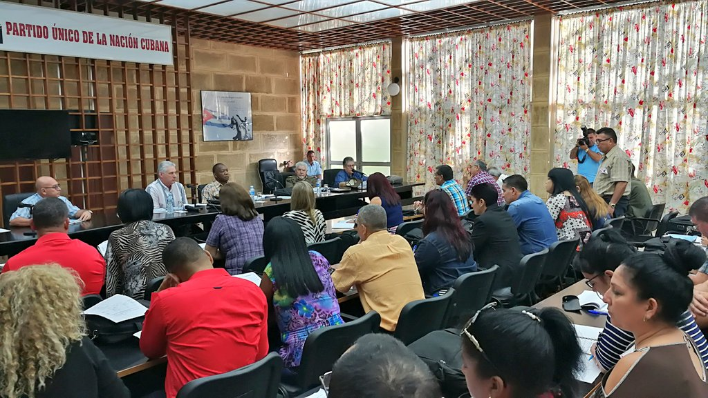 Visita gubernamental a Ciego de Ávila evaluó programas prioritarios