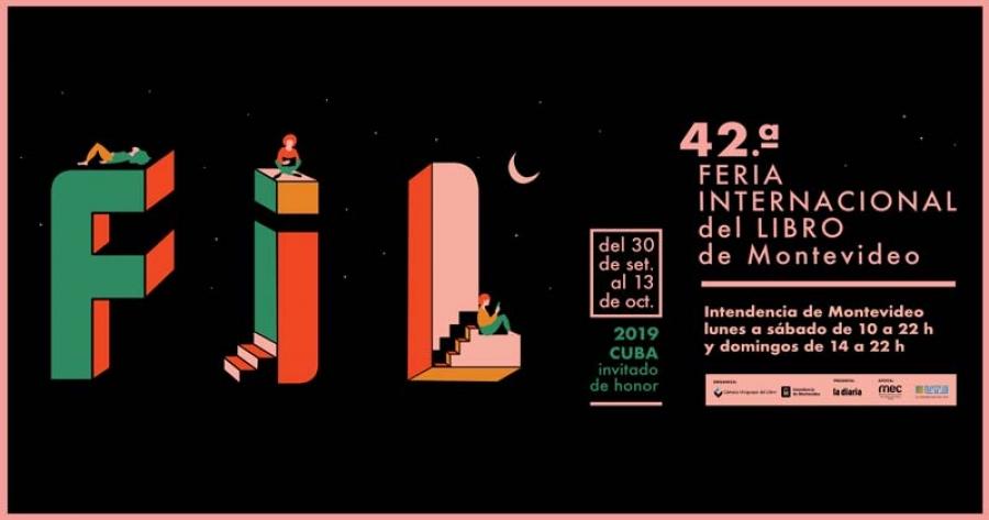 Presente Cuba como país invitado en Feria Internacional del Libro de Montevideo