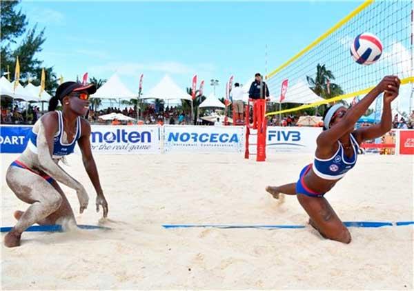 Plata del NORCECA para dupla cubana de Voleibol de playa