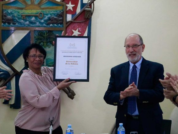 Diaz-Canel congratulates Havana University for UDUAL recognition