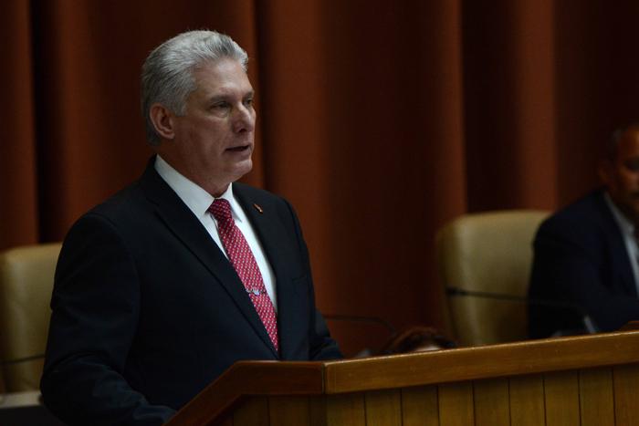 Presidente de Cuba: venimos a cumplir el mandato del pueblo (+ Audio)
