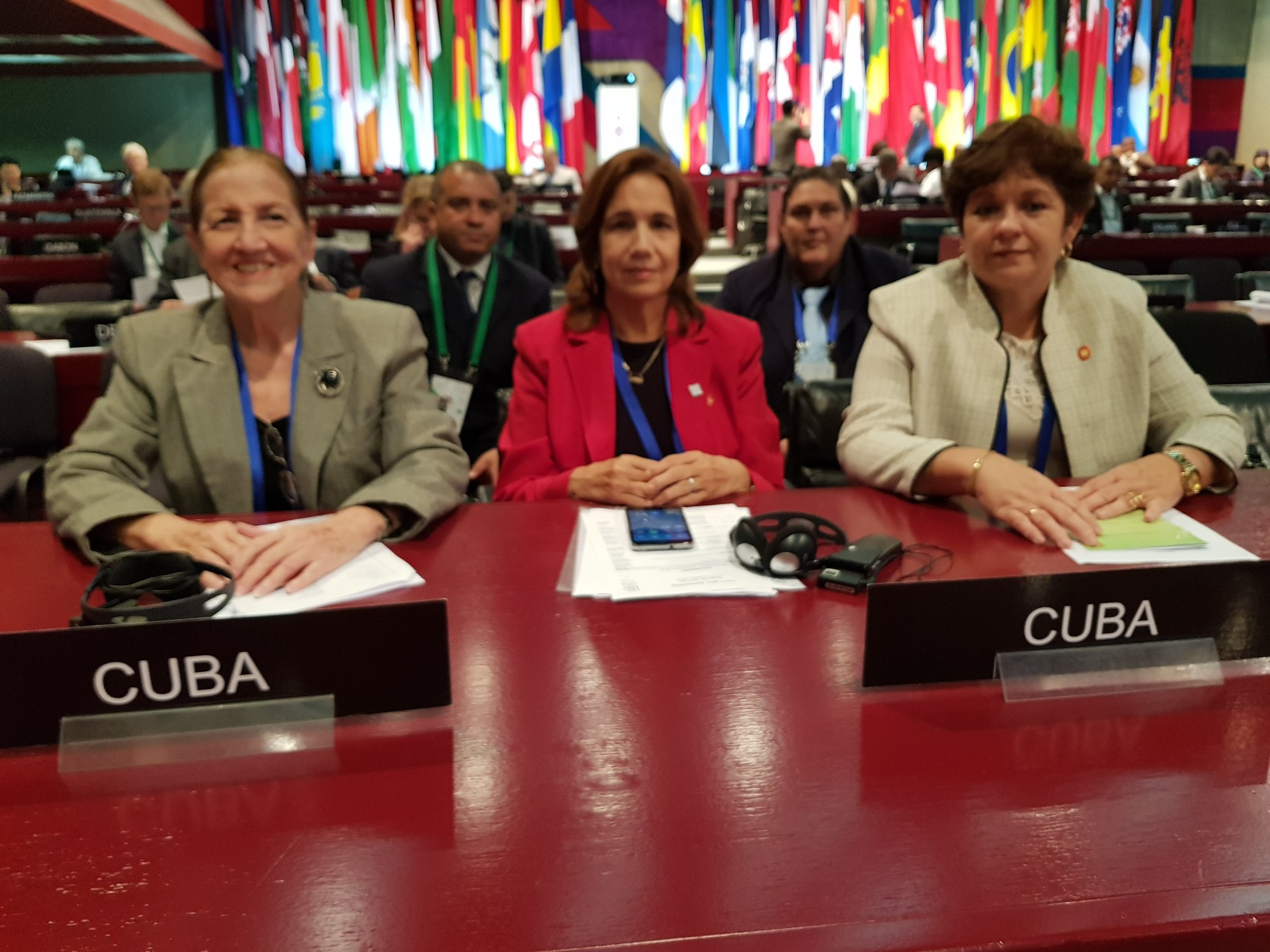 Cuba denounces blockade at Inter-Parliamentary Union