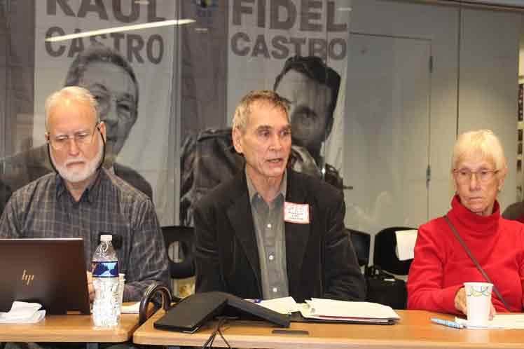 Incorporadas cinco nuevas organizaciones a red de solidaridad con Cuba en EE.UU.
