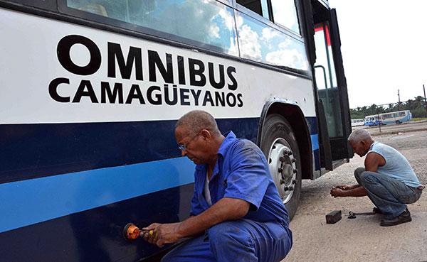Mejoró este año en Camagüey disponibilidad de medios de transporte urbano