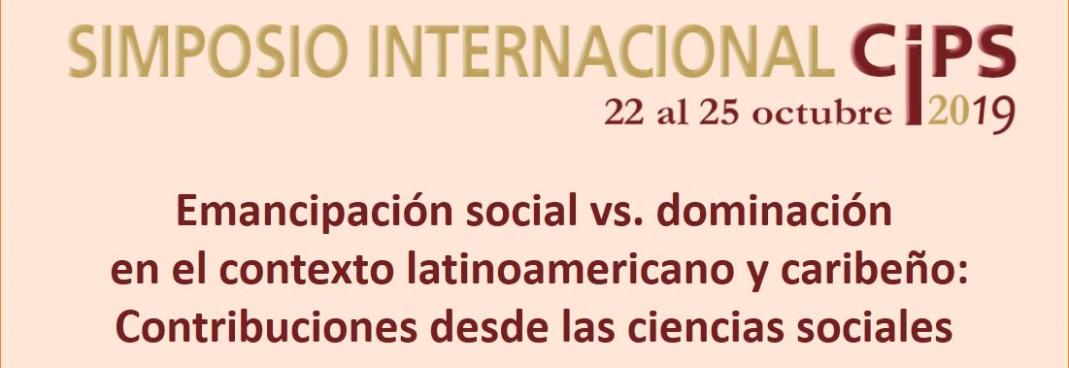 Comienza este martes simposio internacional sobre emancipación social contra dominación