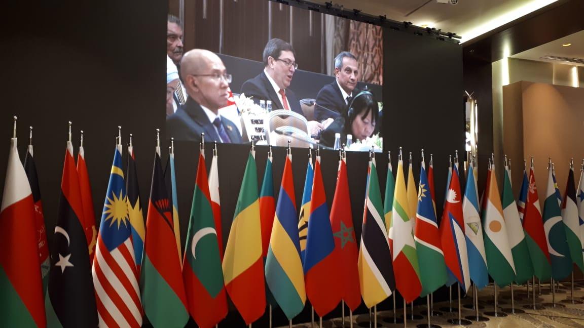 Cuban FM participates in NAM ministerial meeting in Baku