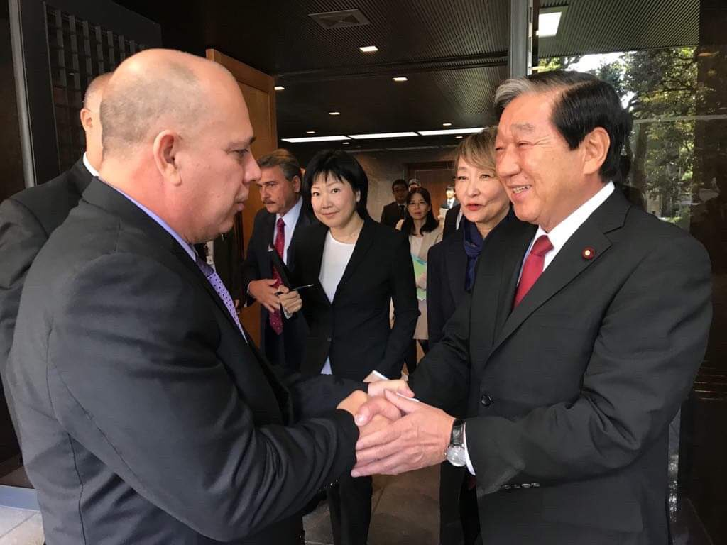 Cuban VP holds an intense working agenda in Japan