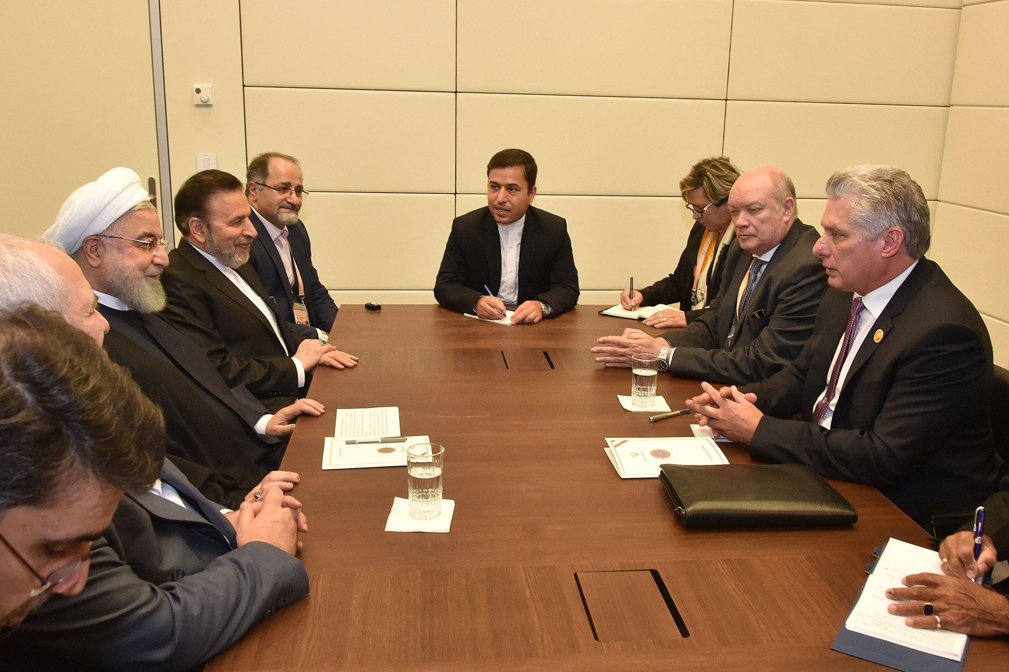 Sostuvo Presidente de Cuba fraternal intercambio con líderes de varias naciones (+ Tuit)