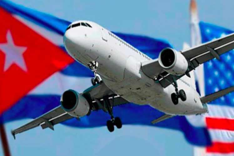 Resultado de imagen para site:www.acn.cu vuelos hacia cuba