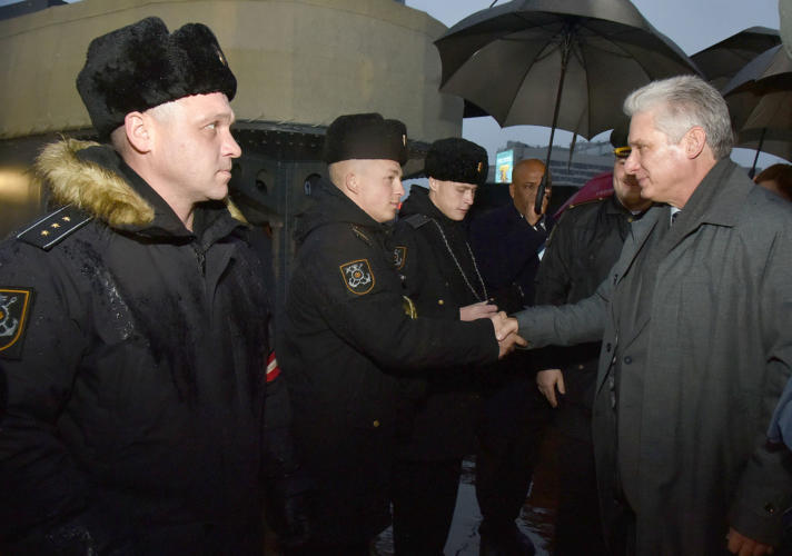 Cuban president arrived in Moscow on working visit