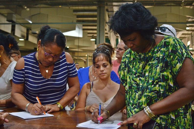 Respaldan en Cuba campaña venezolana contra el bloqueo de EE.UU. (+ Fotos)