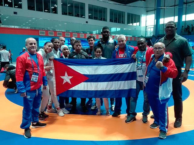 Conquistó Ismael Borrero oro para Cuba en Campeonato Mundial de lucha
