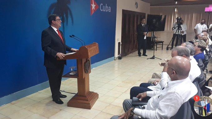 Califica Canciller cubano de inéditas medidas de recrudecimiento del bloqueo (+Video)