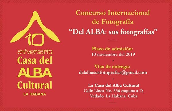 Casa del ALBA Cultural abre convocatoria a concurso de fotografía