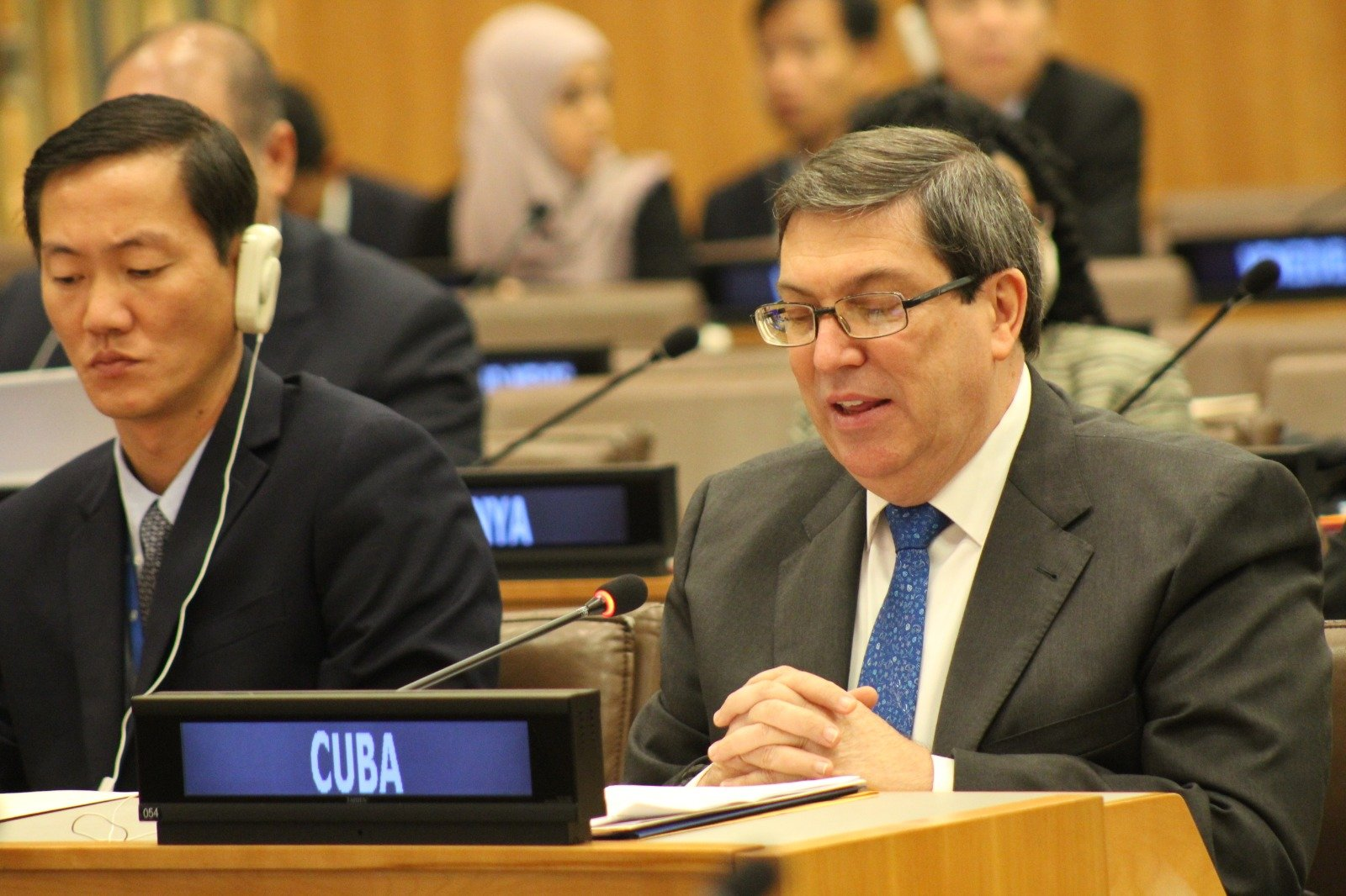 Cuba condemns in international forum the escalation of the US hostile policy