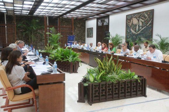 Le Comité conjoint entre Cuba et l'Union européenne a eu lieu à La Havane