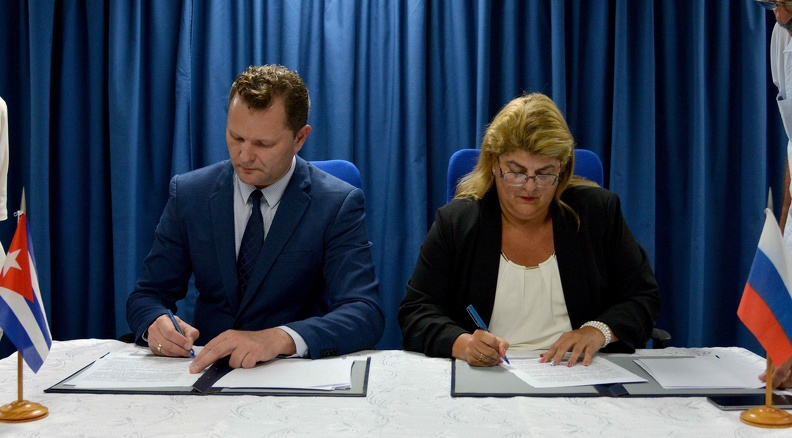 Cuba and Russia sign agreement in the transport sector