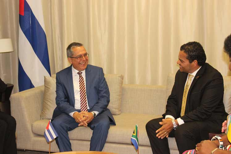Cuban deputy FM stresses importance of political dialogue with South Africa