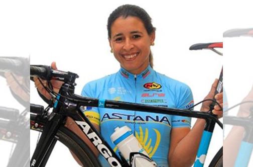 Cubana Arlenis Sierra permanece entre las primeras ciclistas del escalafón universal