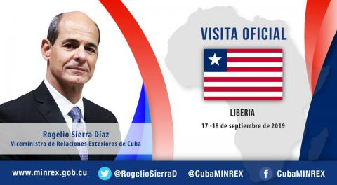 Cuban Deputy Minister of Foreign Affairs begins working visit to Liberia