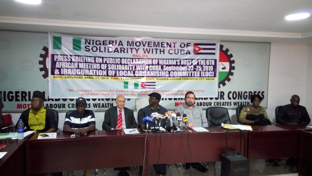 Nigeria hosts solidarity meeting with Cuba
