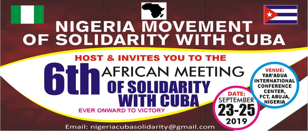 Solidarity meeting with Cuba kicks off in Nigeria