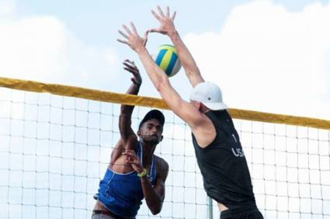 Cuban beach volleyball duos win two medals in Mexico