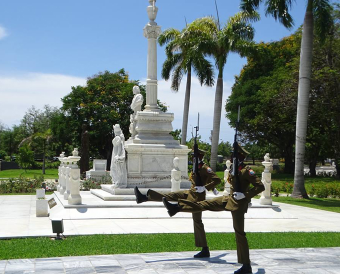 Homenaje por bicentenario de natalicio de Céspedes en Santiago de Cuba